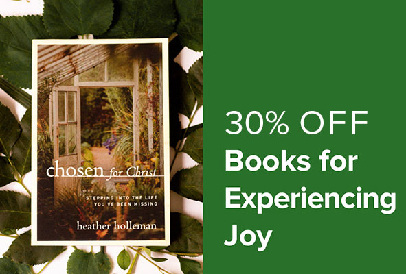 30% Off Books for Experiencing Joy