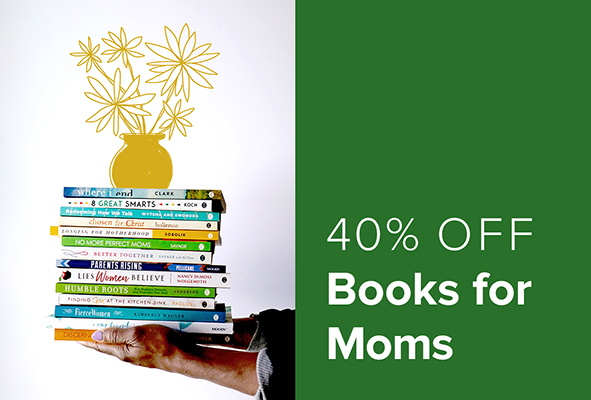 40% Off Books for Moms