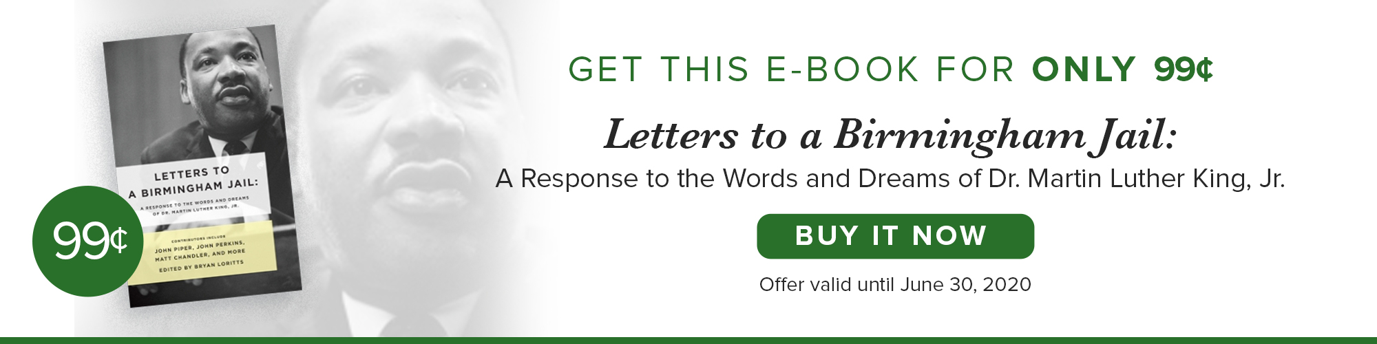 GET THIS E-BOOK FOR 99¢ - Letters to a Birmingham Jail - A Response to the Words and Dreams of Dr. Martin Luther King, Jr.