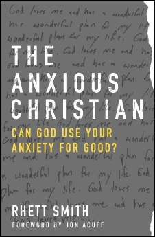 The Anxious Christian Book Cover