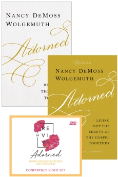 Adorned Leader Kit - includes Adorned book & study guide & DVD