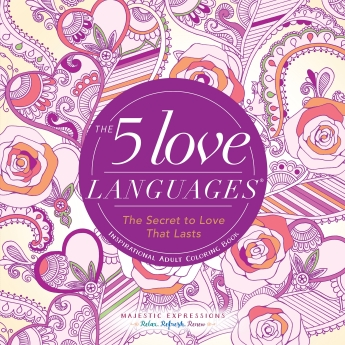 The Five Love Languages - Inspirational Adult Coloring Book