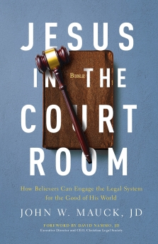 Jesus in the Courtroom Book Cover