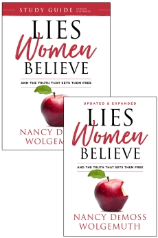 Lies Women Believe + Study Guide for Lies Women Believe - 2 book set