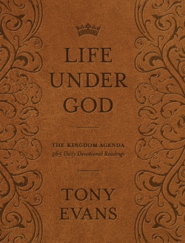 Life Under God Book Cover