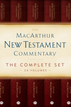 The MacArthur New Testament Commentary Set of 34 volumes