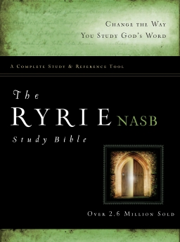 The Ryrie NAS Study Bible Red Letter Indexed