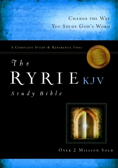 The Ryrie KJV Study Bible Red Letter Indexed