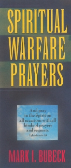 Spiritual Warfare Prayers Book Cover