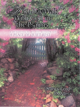 A 30 Day Walk with God in the Psalms Book Cover