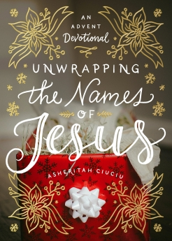 Unwrapping the Names of Jesus Book Cover
