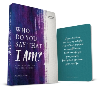 Who Do You Say that I AM + Journal
