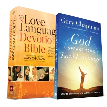 God Speaks Your Love Language and Five Love Languages Devotional Bible