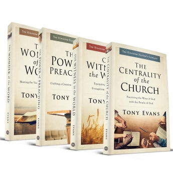 Tony Evans' Kingdom Pastor's Library Bundle