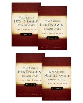 Luke 1 24 macarthur new testament commentary set resourcing the church luke 1 24 macarthur new testament commentary set fandeluxe Choice Image
