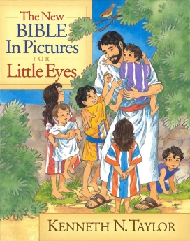 The New Bible in Pictures for Little Eyes