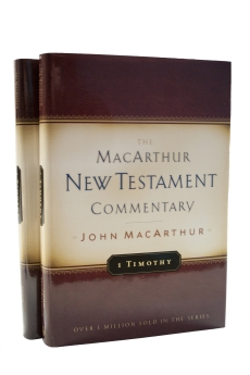 1 & 2 Timothy MacArthur New Testament Commentary Set